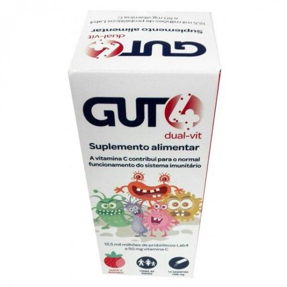 GUT4 DUAL-VIT 14 SAQUETAS