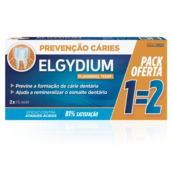 ELGYDIUM PASTA DENTIFRICA CARIES 75ML DUO