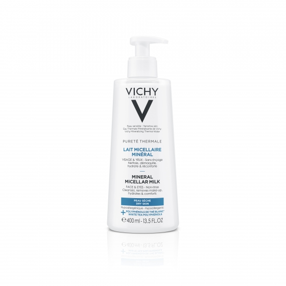 VICHY PUR THERMAL LEITE MICELAR 400ML