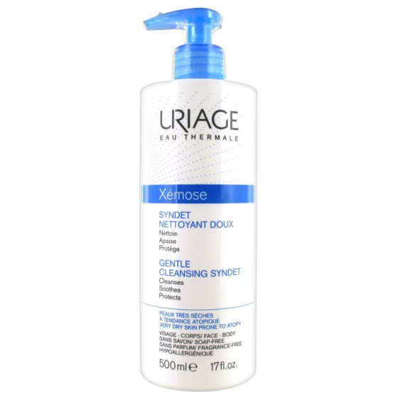 URIAGE XEMOSE SYNDET GEL CREME LIMPEZA 500ML