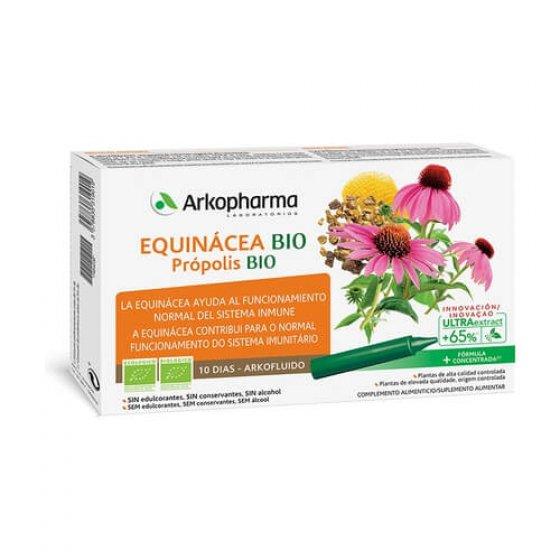 ARKOFLUIDO BIO EQUINACEA/PROPOLIS AMPOLAS 15ML X 10