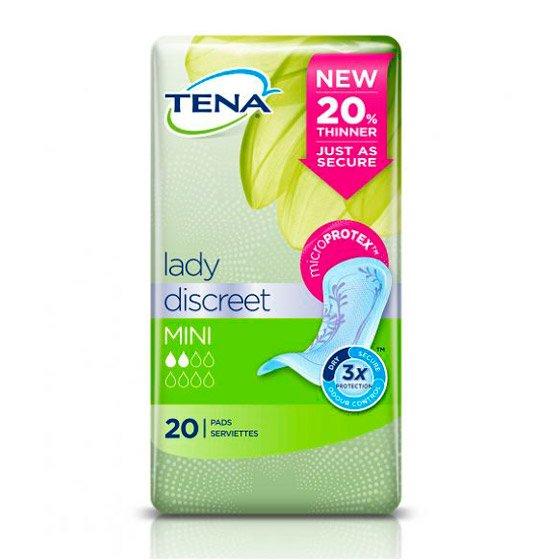 TENA LADY DISCREET PENSO MINI X 20