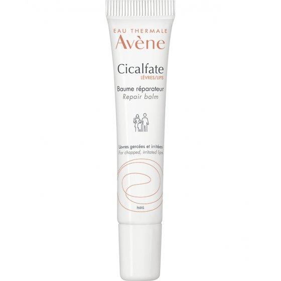 AVÈNE Cicalfate Lábio Bálsamo reparador para lábios gretados. Embalagem de 10 ml