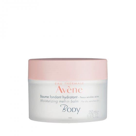 AVÈNE Body Bálsamo Fondant Hidratante para pele seca e muito seca. Embalagem de 250 ml
