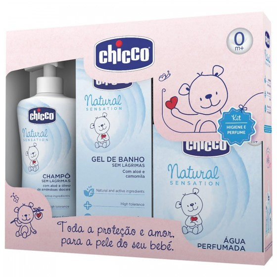 CHICCO CONJUNTO NATURAL SENSATIONS ROSA GRANDE