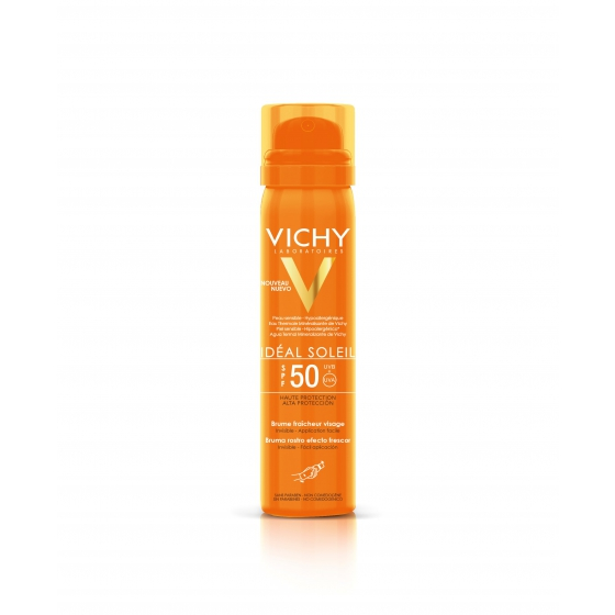 VICHY IDEAL SOLEIL BRUMA FP50+ ROSTO 75ML