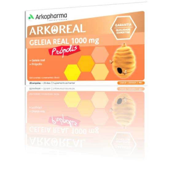 ARKOREAL GELEIA REAL 1000MG+PROPOLIS AMPOLAS X 20
