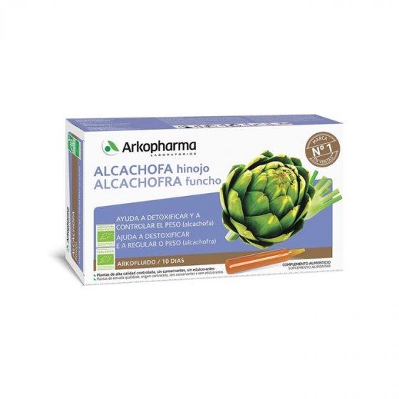 ARKOFLUIDO ALCACHOFRA FUNCHO AMPOLAS X 20