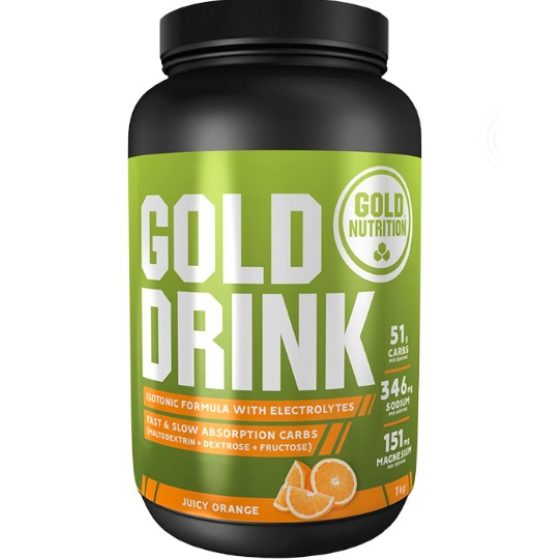 GOLD NUTRITION GOLD DRINK LARANJA 1KG