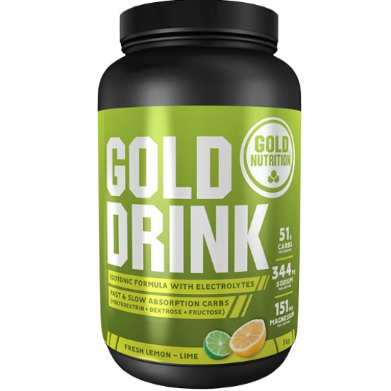 GOLD NUTRITION GOLD DRINK LIMAO 1 KG