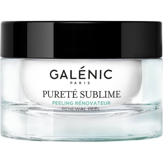 GALÉNIC Galénic Pureté Sublime Peeling Renovador para pele oleosa de tendência acneica. Embalagem de 50 ml
