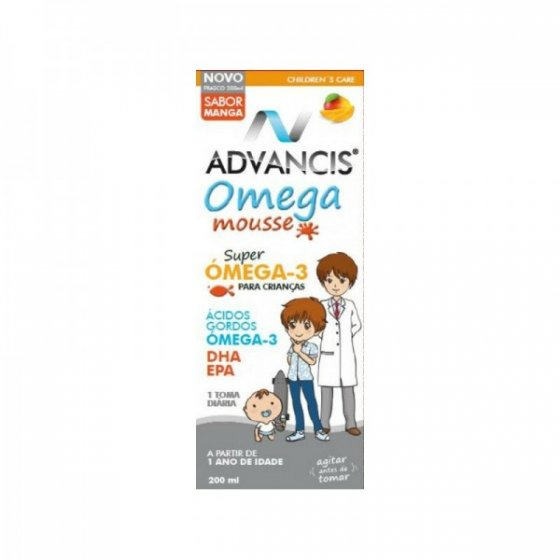 ADVANCIS OMEGA MOUSSE EMULSAO MANGA 200ML