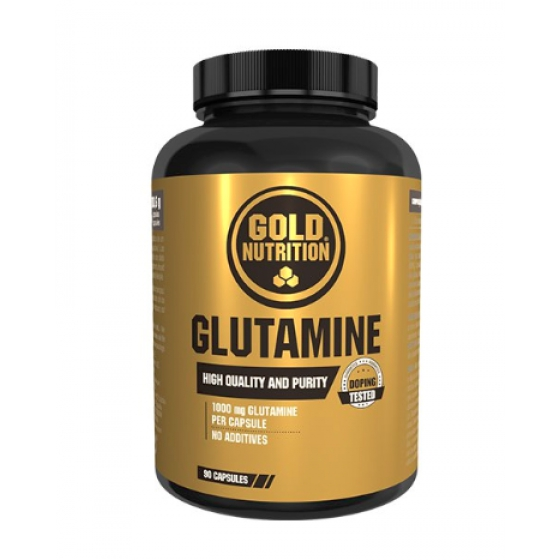 GOLD NUTRITION GLUTAMINE 1000 MG x 90 CAPSULAS