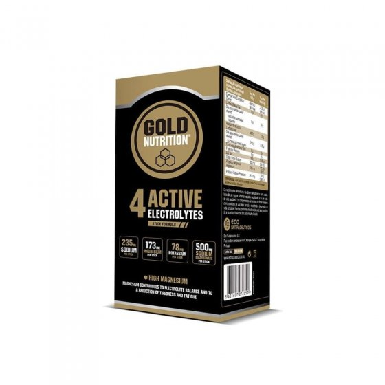 GOLD NUTRITION 4 ACTIVE ELECTROLYTES