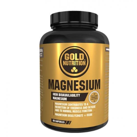 GOLD NUTRITION MAGNESIUM CAPSULAS X 60