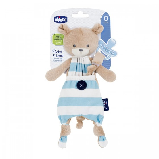 CHICCO POCKET FRIEND MENINO 0 MESES+