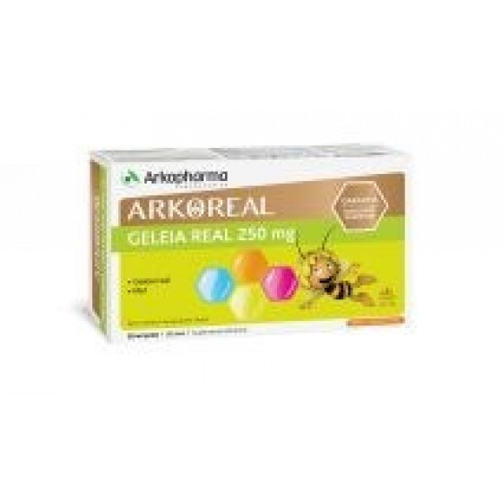 ARKOREAL GELEIA REAL 250MG AMPOLAS 15ML X 20