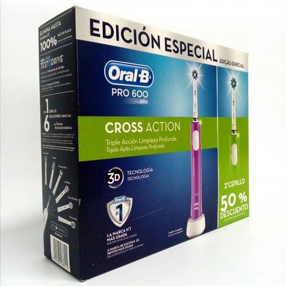 ORAL B PRO ESCOVA ELECTRICA 600 CA DUPLO