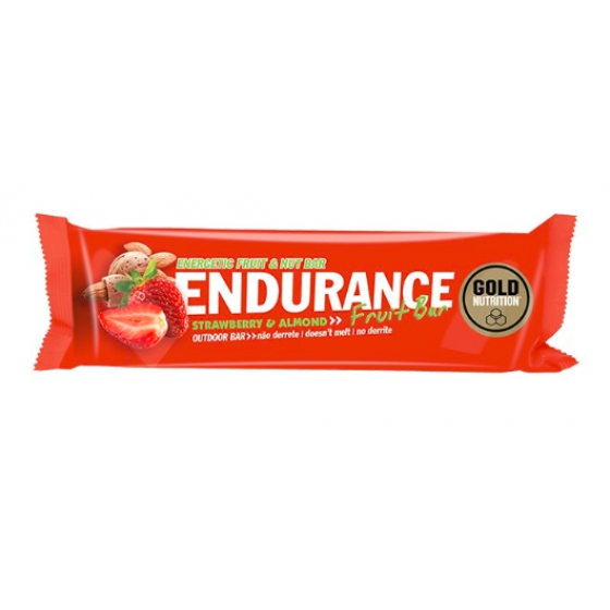 GOLD NUTRITION ENDURANCE FRUIT BARRA DE MORANGO & AMENDOA