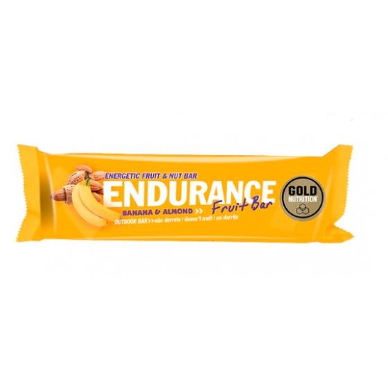 GOLD NUTRITION ENDURANCE FRUIT BARRA DE BANANA & ALMOND