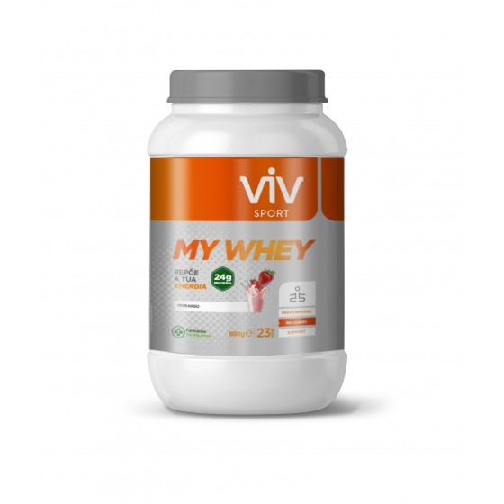 Viv Sport My Whey Morango Pó x 23 doses