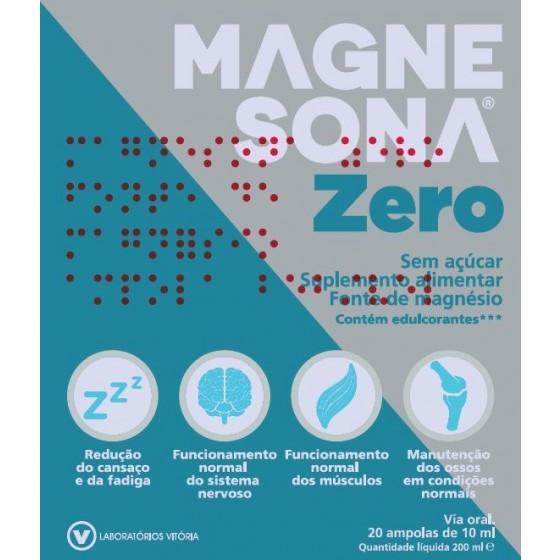 MAGNESONA ZERO AMPOLAS 20X10ML