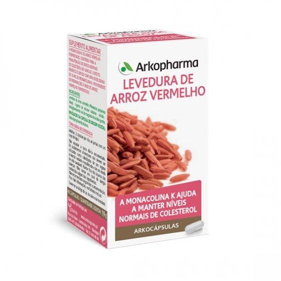 ARKOCAPSULAS LEVEDURA ARROZ VERMELHO CAPSULAS X45