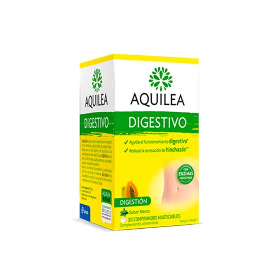 AQUILEA DIGESTIVO 30 COMPRIMIDOS MASTIGÁVEIS