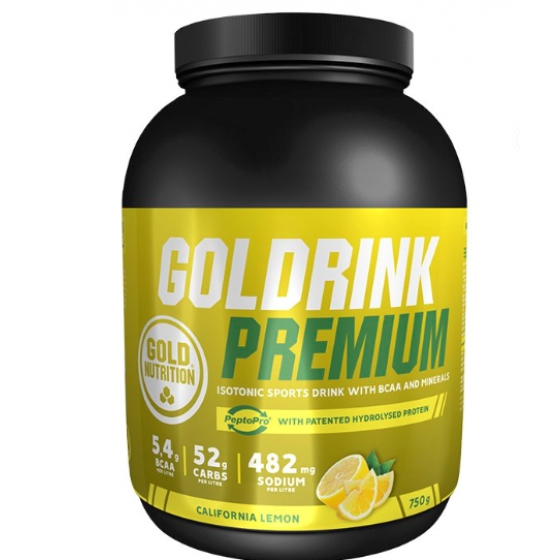 GOLD NUTRITION GOLD DRINK PREMIUM LIMAO 750G