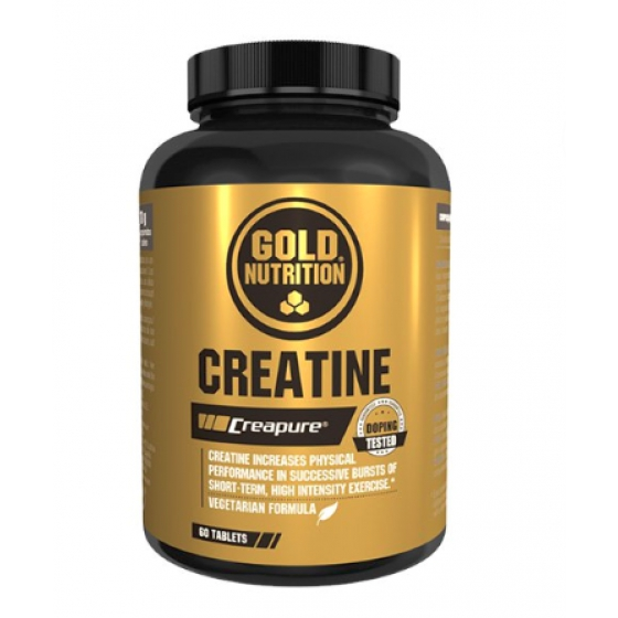 GOLD NUTRITION CREATINE 1000MG COMPRIMIDOS X 60