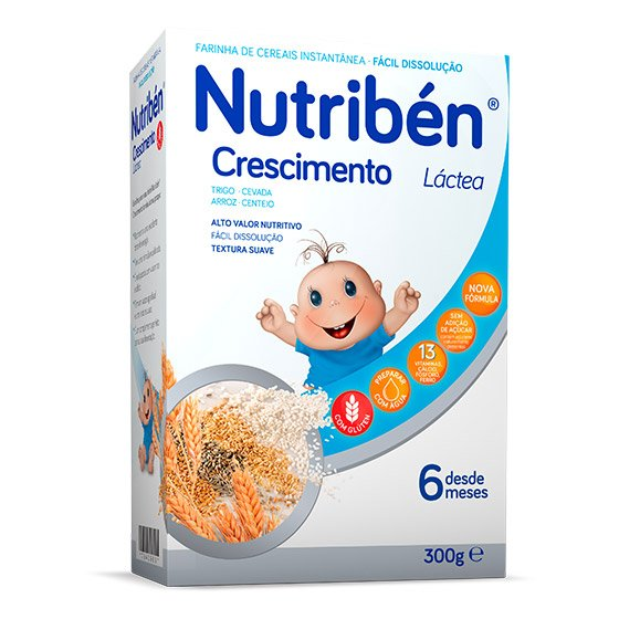 NUTRIBEN CRESCIMENTO LÁCTEA 300G