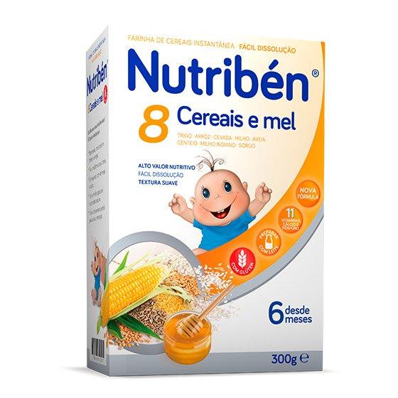 Nutribén 8 Cereais e Mel 300g