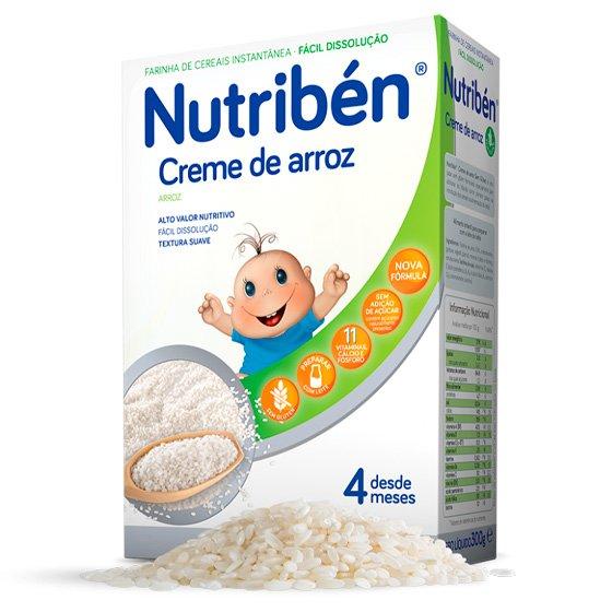 NUTRIBEN CREME DE ARROZ 300G