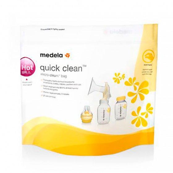 MEDELA QUICK CLEAN SACO ESTERILAZACAO MICROONDAS X 5